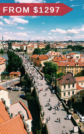 prague-to-budapest escorted tour